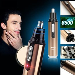 Wholesale Nose Ear Face Neck Eyebrow Hair Trimmer Shaver Clipper Cleaner Mens Personal New