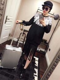Wholesale Melinda Style long sweatshirt laser pattern long pullover fashion casual tops