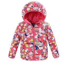 Wholesale 2015 Hot Quaility Top Foreign Trade Snoopy Children s Winter Cotton Clothes Fo3 Years Old Boys Girls Coat