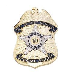 Accurate Repro US Secret Service Agent spécial Metal Badge-32476