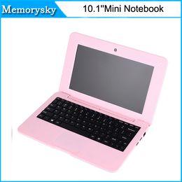 Дешевые 10,1-дюймовый 1024 * 600 TN ядро мини-нетбук Quad 1,33 ГГц 1 Гб + 16 Гб 0,3-Мп камера для ноутбука ноутбук в наличии 010250