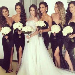 Discount Velvet Floor Length Bridesmaid Dress  2017 Velvet Floor ...