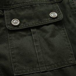 Wholesale AFS JEEP Business casual brand men s military style long jackets coats pure cotton casaco man jaqueta jacket coat