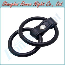 Wholesale High Quality Time Delay Silicone Dual Penis Rings Cock Rings Sex Products for Men Adult Sex Toys Cock Cage Products