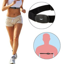 Wholesale Bluetooth Wireless Sport Heart Rate Monitor Chest Strap Band Running Fitness Exercise for iPhone iPad Android Smartphone Y0358