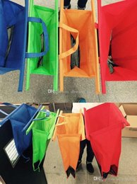Wholesale Newest in1 Shopping Grocery Bag For Supermarket Trolleys Carrier Bag Shopping Bag Reusable Trolleys Folding Shopping Bag DHL hot sell