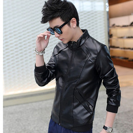 Discount Mens Leather Biker Style Jackets | 2017 Mens Leather ...