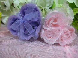 Wholesale Novelty Product boxes Beautiful And Magic Soap Flowers with many colors for your choise
