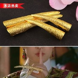 Wholesale upset Cloisonne zhenHUAN the armor of guanyin nails set of ancient costume cos brides ring set of qing