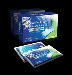 Wholesale 14Pairs Box Oral Hygiene Teeth Whitening Strips Professional Double Dental White Teeth Strips Gel Bleaching Tooth