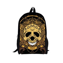 Discount Kids Backpacks Skulls | 2017 Kids Backpacks Skulls on ...