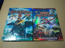 Wholesale 2014 NEW hot selling Planes Fire Rescue How to train your dragon puzzle cartoon dvd
