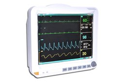 Wholesale Fast shipping New inch ICU CCU Parameter Patient Monitor NIBP SPO2 ECG TEMP RESP PR
