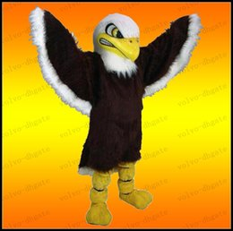 Wholesale LAI289 Bald Eagle Mascot Costume Eagle Costume Party Fancy Dress