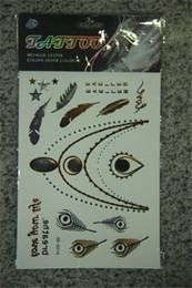 Wholesale Bracelets Tattoos Sticker DIY Kit Makeup D Temporary Tattoos bronzing hot silver glitter temporary tattoos stickers