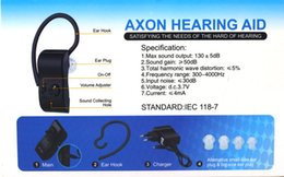 Wholesale Hearing Aid A personal sound amplifier voice amplifier Analogue Rechargeable Bluetooth Type