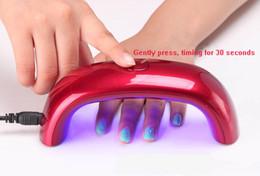 Wholesale NEW Mini Rainbow Nail Art Lamp W LED Light Bridge Shaped Mini Curing Nail Dryer Nail Art Lamp Care Machine for UV Gel USB Cable