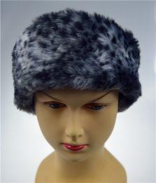 Wholesale Winter Faux Fur Hat Ski Head band Hair Band Tenia Earwarmer