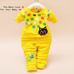 Wholesale pcslot Kitten stretch suits baby clothing baby male baby suit explosion models children s clothing