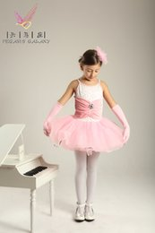 Wholesale ballet costume professional ballet tutus Children dance clothes and suits girls long sleeved winter clothing costumes pink tutu