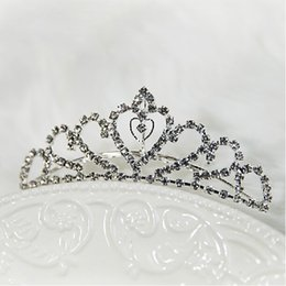 Wholesale 2015 New Fashion Wedding Bridal Crystal Rhinestone Beaded Crowns Hair Accessories With Comb Shinning Bridal Jewelry