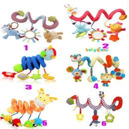 Bebé juguetes de múltiples funciones cama de círculo / cama redonda con el papel de sonido muchos tipo para elegir