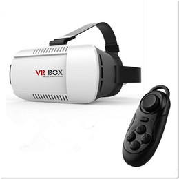 Глава Mount VR BOX версия VR Виртуальная реальность очки Google Рифт Картон 3D фильм 3,5