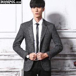 Discount Dark Grey Wool Blazer Men | 2017 Dark Grey Wool Blazer ...