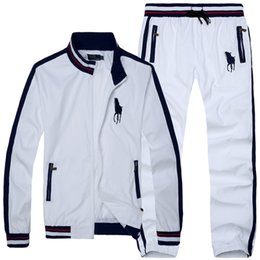 Wholesale Big horse spring and autumn Man Hoodies Clothing Casual Sportswear Men Tracksuit Sports Sweatshirts Men s Sport Suit
