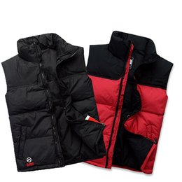 Wholesale North Brand New High Quality Men white duck down vest women Down Vest Down Jacket Outerwear Size S XXL