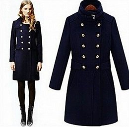 Military Style Ladies Coats - JacketIn