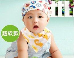 Wholesale 47 Design baby bibs cotton soft newborn baby bib infant burp clothes kids toddler feeding children accessories
