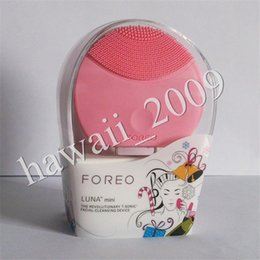 Wholesale New Rechargeable Foreo Luna Mini Ultrasonic Instrument Super Facial Cleaner Waterproof Charge Electric Lun Foreo Brightening Cleansing