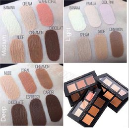 Wholesale Large stock ship in hours New Makeup Face Anastasia Beverly Hills Contour Cream Kit Colors LIGHT MEDIUM DEEP