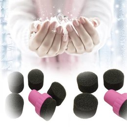 Wholesale Nail Art Sponge Stamp Polish Template Transfer DIY Design Kit Gradual Change Stamper With Sponge Replacement