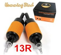 Wholesale 20pcs Sterilized Tattoo Tube Grips R Humming Bird Assorted quot mm Tattooing Kits Supply New Listing