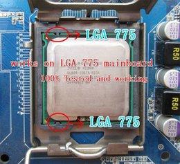 Processeur Intel Xeon E5462 (2.8GHz / 12M / 1600MHz) à proximité de Core 2 Quad Q9550 CPU, fonctionne sur la carte mère LGA775 pas besoin d'adaptateur!