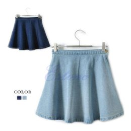 Jean circle skirt – Fashion clothes in USA photo blog