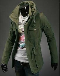Wholesale UK Style Premium Luxury Men s Hoodie Coats Vogue Slim Fit Design Tops New Casual Jackets size M XXL