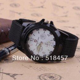 discount black white watches men 2013 2017 black white watches accurate 2013 army watch men black band white face sports fashion cool wrist watch on new shipping