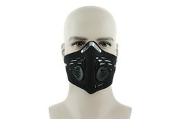 Wholesale Training Mask Anti fog Face Mask Filter MTB Bicycle Cycling Outdoor Sports Activated Carbon Dust Mask BC A