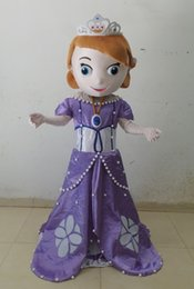 Wholesale Customized Professional Cartoon Princess Sofia MASCOT Character Costume For Adult Fancy Dress Party Suit