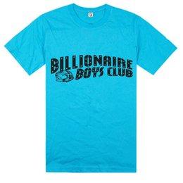 Wholesale BBC Billionaire Boys Club Men t shirts Top Cotton Round Neck Hip Hop Roll Tshirt BILLIONAIRE BOYS CLUB