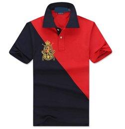 Wholesale hot selling New Men s cotton T Shirts Men s Short Sleeve T Shirt slim fit Polo shirt Size S M L XL XXL
