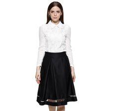 Discount Plain Black Skirt | 2017 Plain Black Midi Skirt on Sale ...