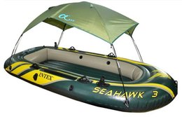 Intex Надувные лодки Seahawk серии 68347 68349 68351 ВС Укрытие Intex Надувные лодки Палатка Canopy для рыбалки Лодка от солнца (Нет Лодка)