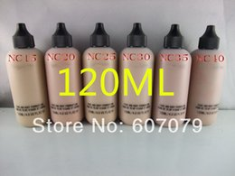 Wholesale Free Hkpost New Makeup Face And Body Foundation Fond De Teint ml colors NC15