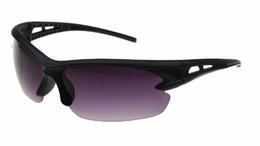 gafas de visión nocturna de la moda gafas de sol de buena calidad de conducción en bicicleta UV gafas de sol polarizadas deporte de vidrio nuevos hombres de la marca gafas de sol