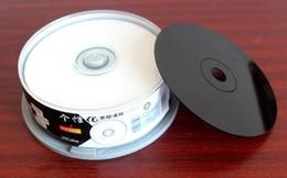 Ritek vinilo imprimir cd-r 700MB 52X quemar plato una placa de grabación de CD de música de vinilo de vinilo en blanco CDS 25PCS / LOT