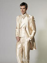 Discount White Suit Gold Trim | 2017 White Suit Gold Trim on Sale